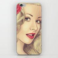 Christina Aguilera iPhone & iPod Skin