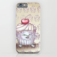 There is a Monster in my cupcake iPhone 6 Slim Case
