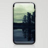 Lake By Night iPhone & iPod Skin