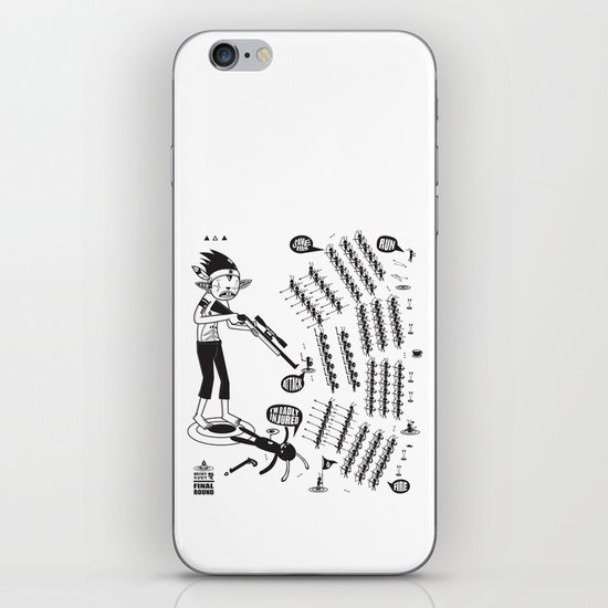 SORRY I MUST RUN - ULTIMATE WEAPON ARROW [FINAL ROUND] iPhone & iPod Skin