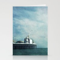 brighton pier Stationery Cards
