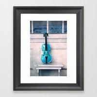 Violin IV Framed Art Print