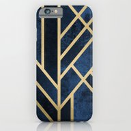 Art Deco Midnight iPhone 6 Slim Case