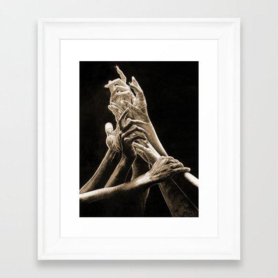 Quest for Light #2 Framed Art Print