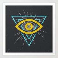 Illuminati Art Print
