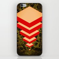 Spacially Separated Squa… iPhone & iPod Skin