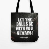 BallWars: Poster Tote Bag