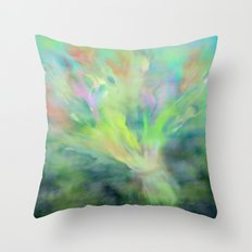 These Flowers are for You Throw Pillow