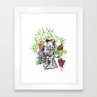 Lil' Sluggerbot! Framed Art Print