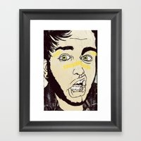 Fact Framed Art Print