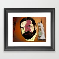 Billy Mays Here Calling … Framed Art Print