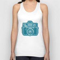I Still Shoot Film Camera Logo Unisex Tank Top