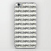 Meowmeowmeow iPhone & iPod Skin