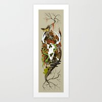 Nature Thrives Art Print