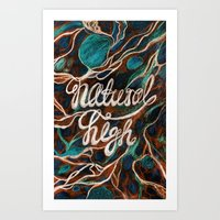 Natural High Art Print