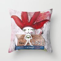 Soul-Searching Bhoomie Throw Pillow