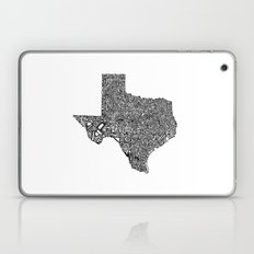 Typographic Texas Laptop & iPad Skin