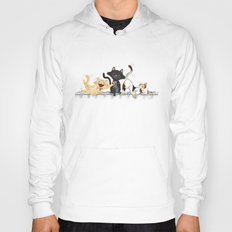 CATS DEAD OF LAUGHTER Hoody