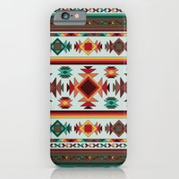 iPhone & iPod Case featuring Aztec Pattern 2 by Robin Curtiss