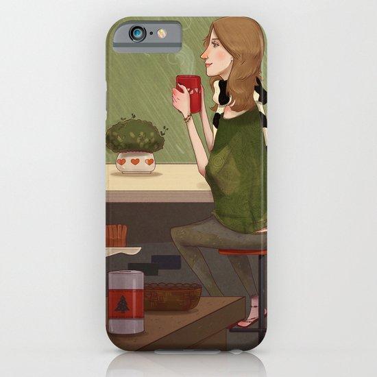 Coffee + Rain iPhone & iPod Case