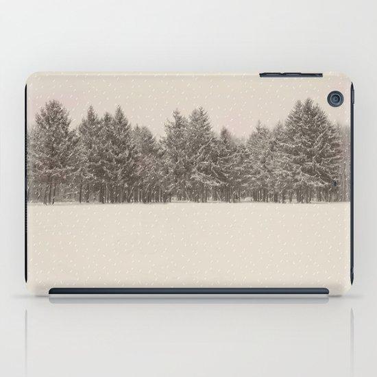 snowfall iPad Case