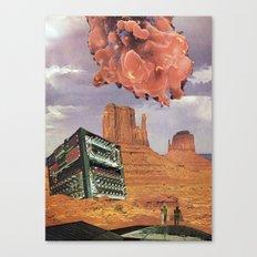 Monument Valley, 2120 A. D. Canvas Print
