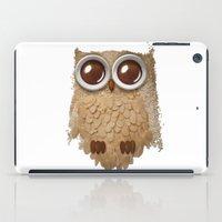 Owl Collage #6 iPad Case