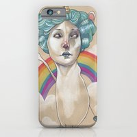 RAINBOW UNICORN iPhone 6 Slim Case