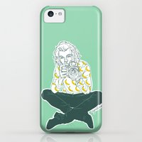 iPhone 5c Cases featuring Banana Boy by Cyrilliart