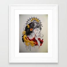 End Strife Framed Art Print