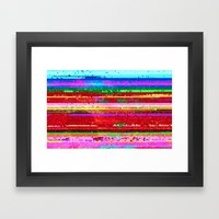 Dubstep Substitution Framed Art Print