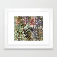 The Set Relationship Between: (A.) An Invisible Woman and (B.) The Ghost Club (1) Framed Art Print