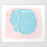 MRBLE 2 Art Print
