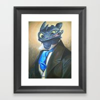 How To Gentrify Your Dragon Framed Art Print