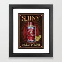 Vintage Shiny! Framed Art Print