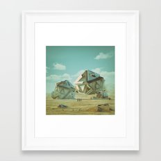 PLATONIC (everyday 12.19… Framed Art Print