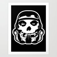 MisFit Trooper Art Print