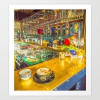 COFFEE BREAK WATERLOO ST… Art Print