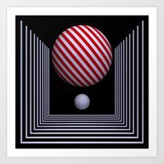 dimension -15- Art Print
