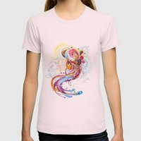 Phoenix Womens Fitted Tee Light Pink SMALL
