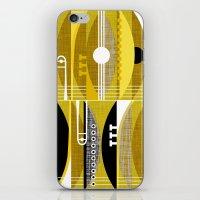 Rhythm N Brass iPhone & iPod Skin