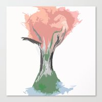 Tree of Autumn Canvas Print