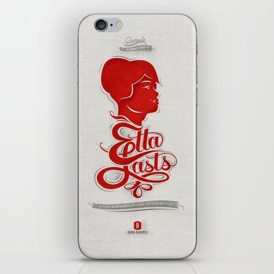 • Etta Lasts • iPhone & iPod Skin