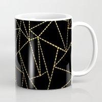 Ab Dotted Gold Mug