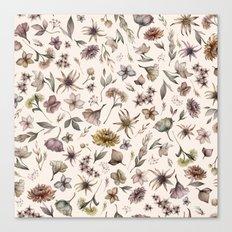 Botanical Study Canvas Print