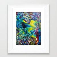 FLIGHT ON TAP - Whimsica… Framed Art Print