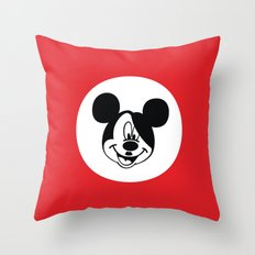 Genosse Mouse Throw Pillow