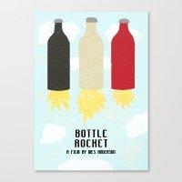 Bottle Rocket Canvas Print