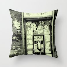 Just before the i-phone Throw Pillow