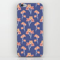Anemone Flowers :: Laven… iPhone & iPod Skin